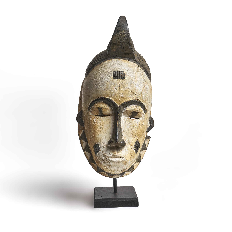 Máscara Igbo de madera.