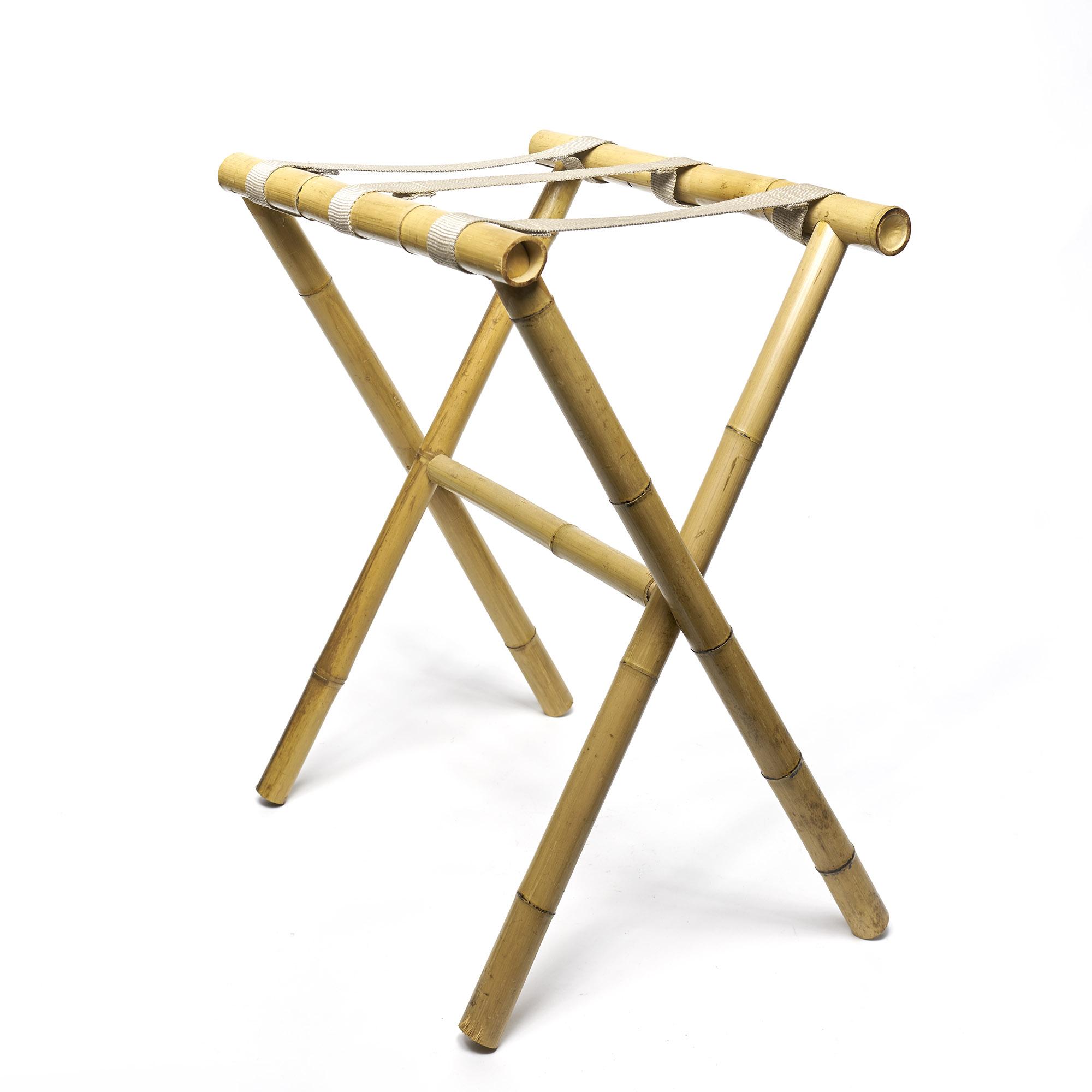 Mesa tijera  de bambú