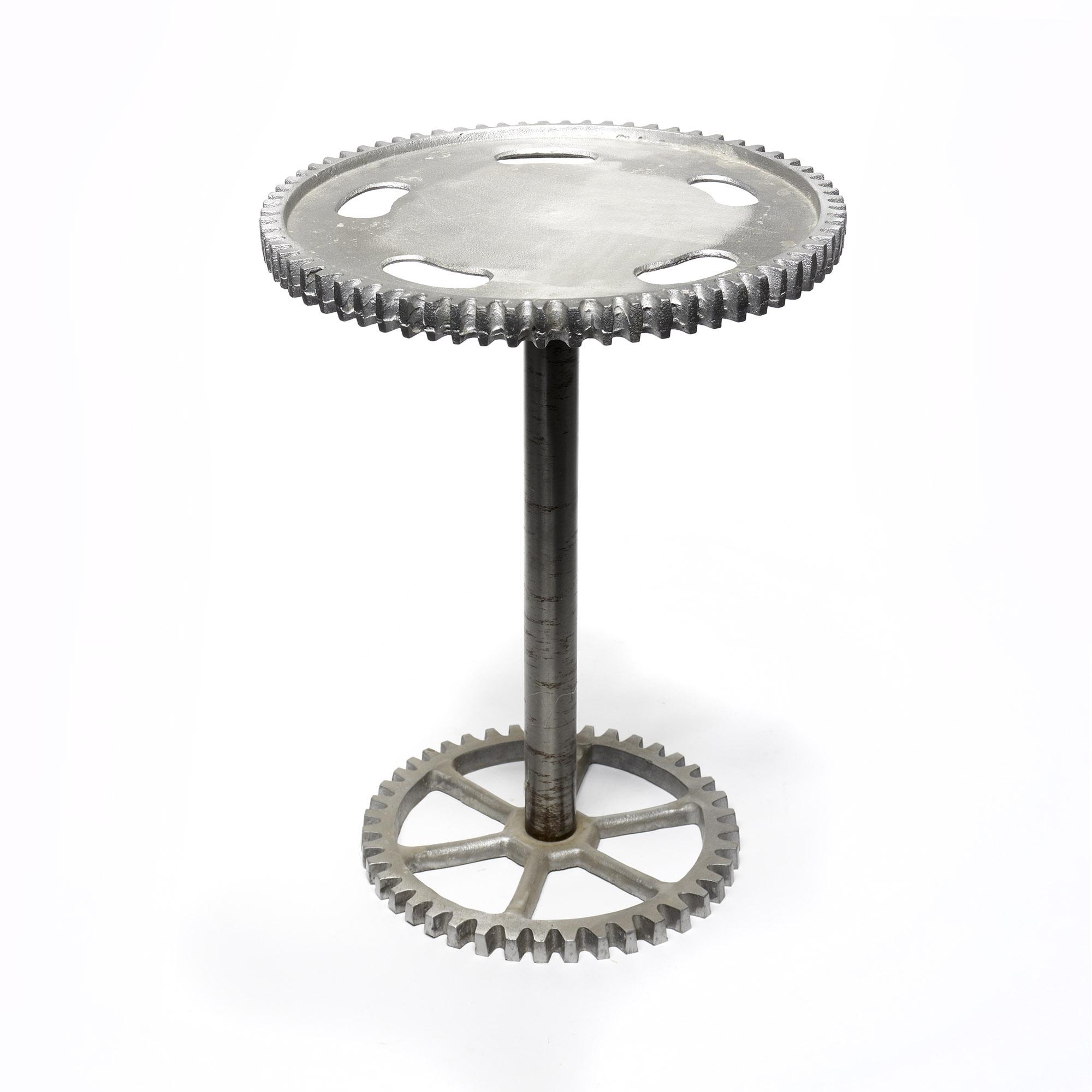 Mesa rueda metal