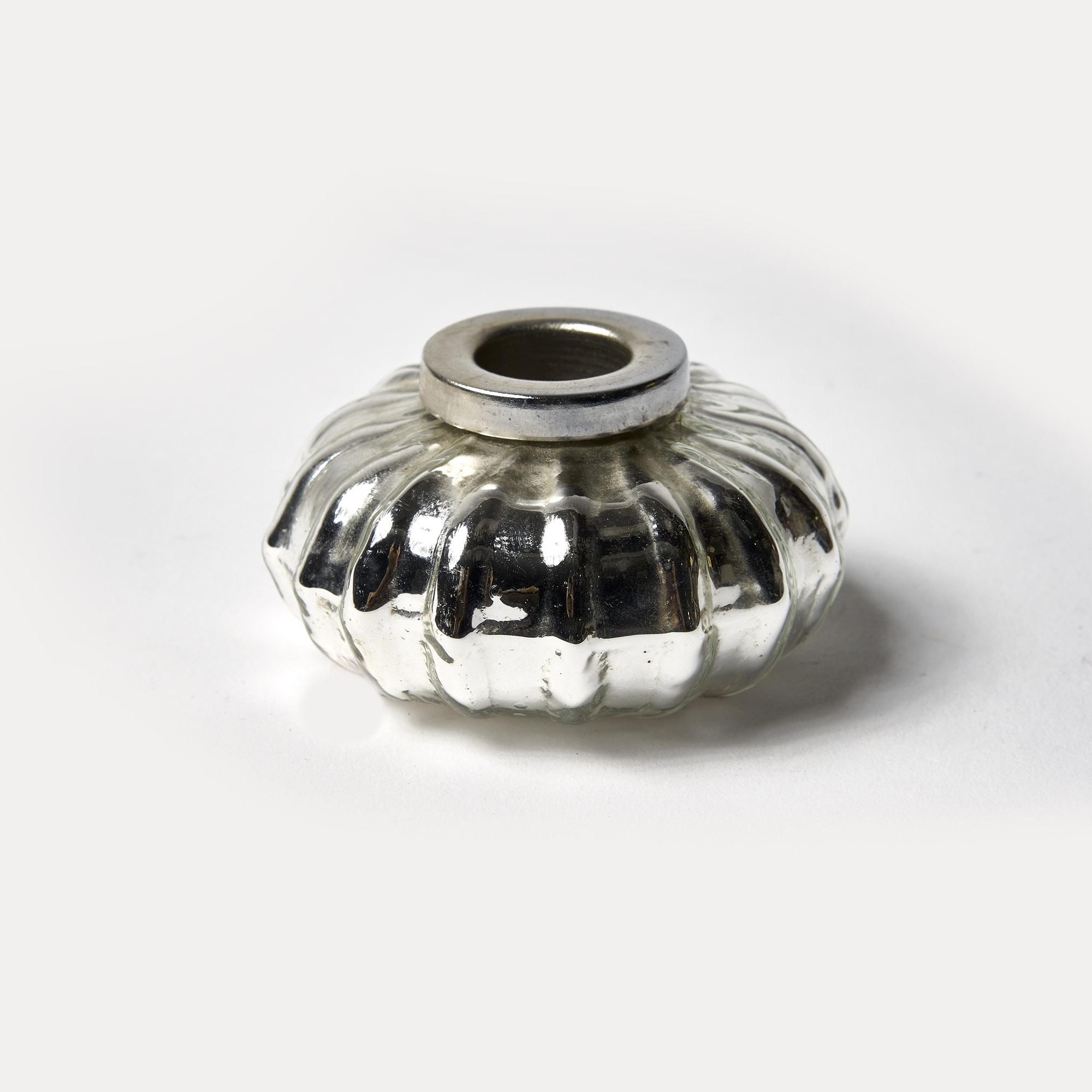 Candelabro de vidrio borosilicato