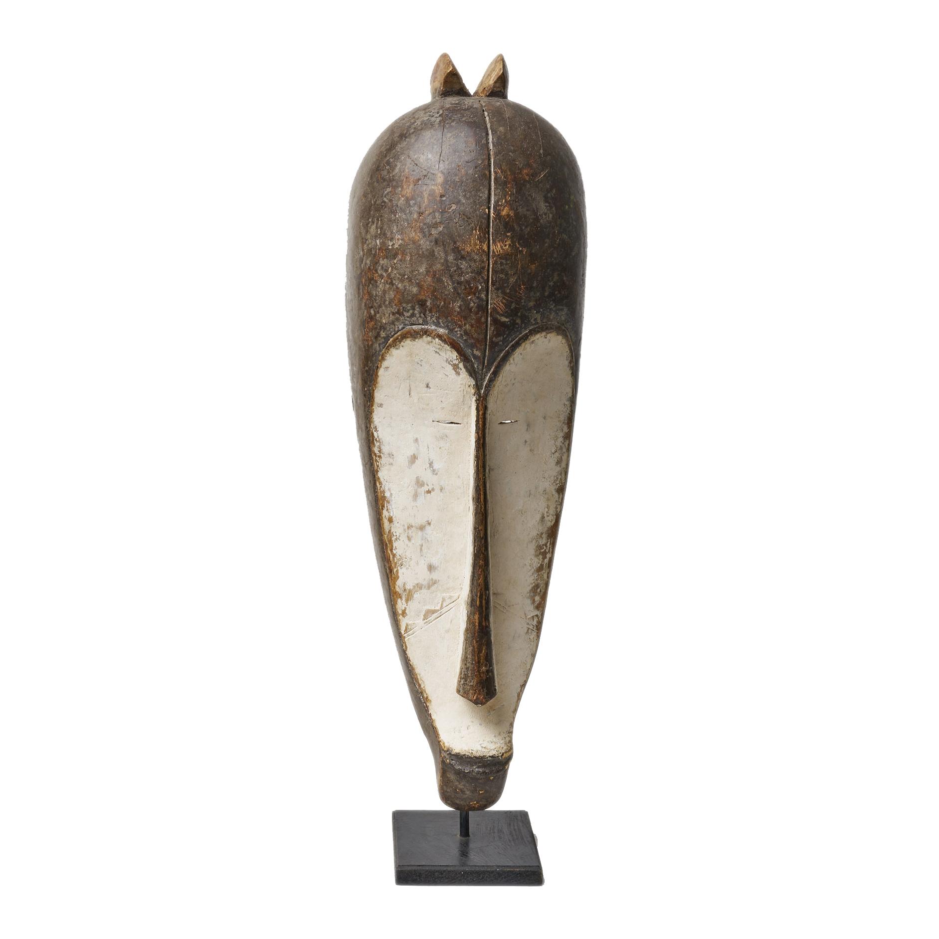 Máscara de madera,¨Fang ´de Gabón