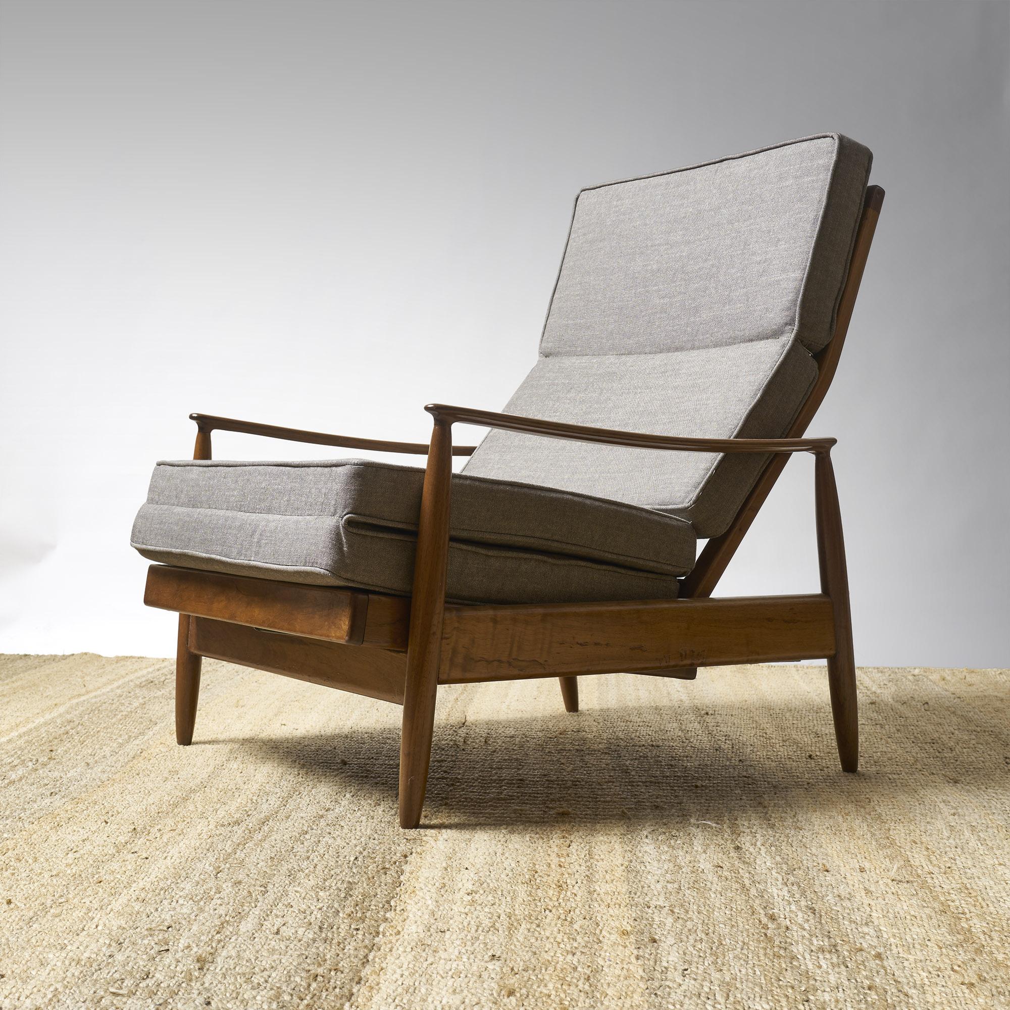 Par de sillones reposeras reclinables totalmente