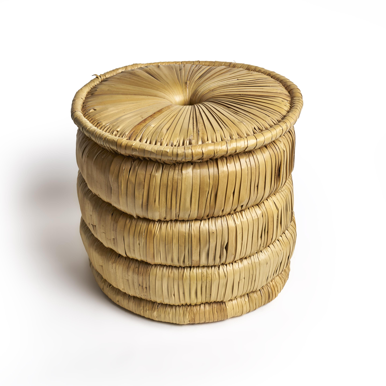 Banco tejido palmera