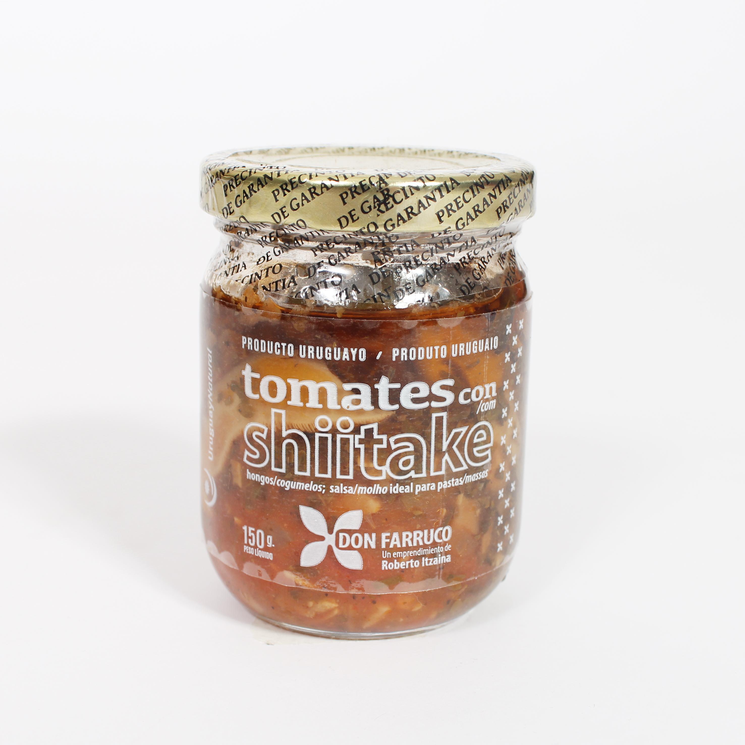 Tomates con Shiitake