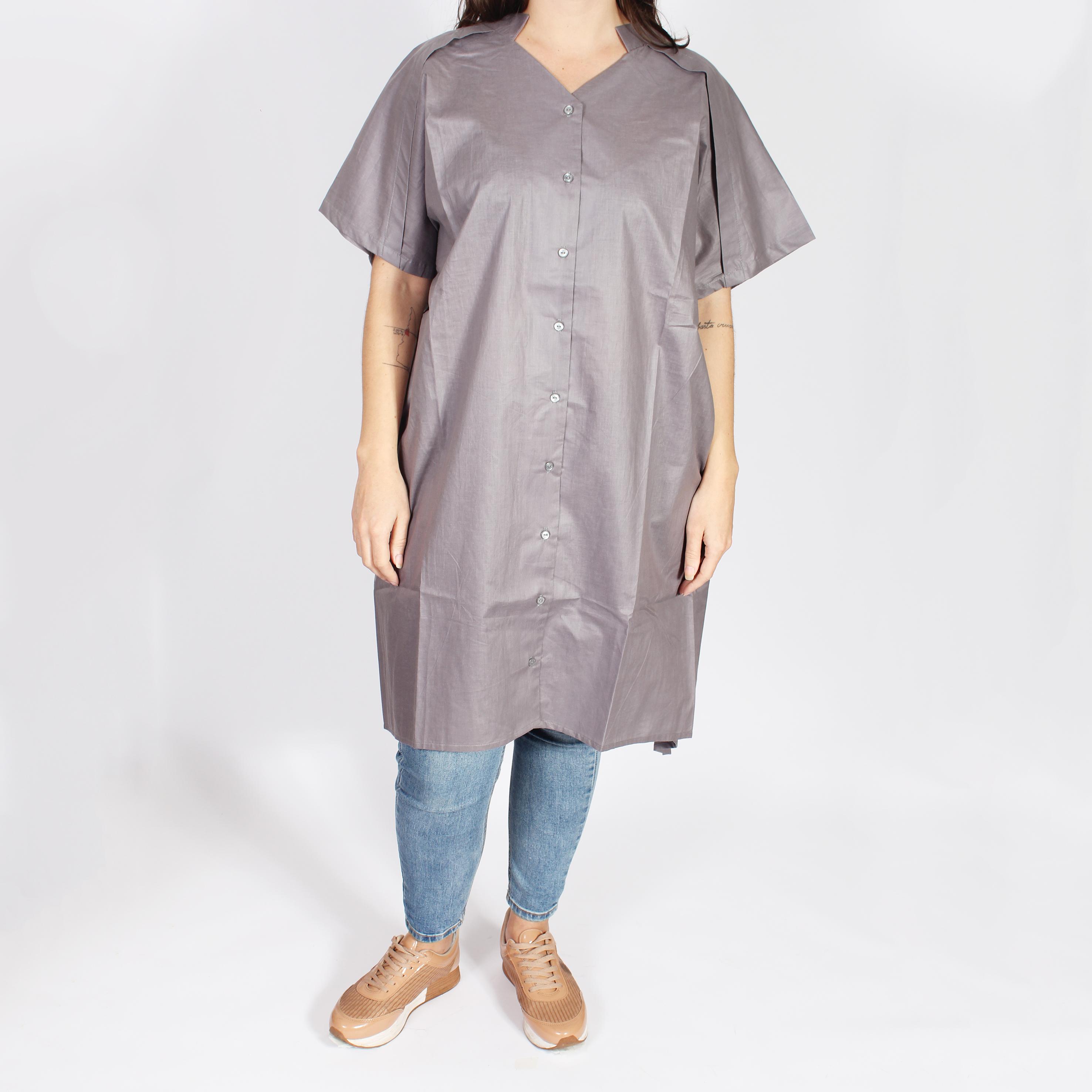 Camisa reversible gris
