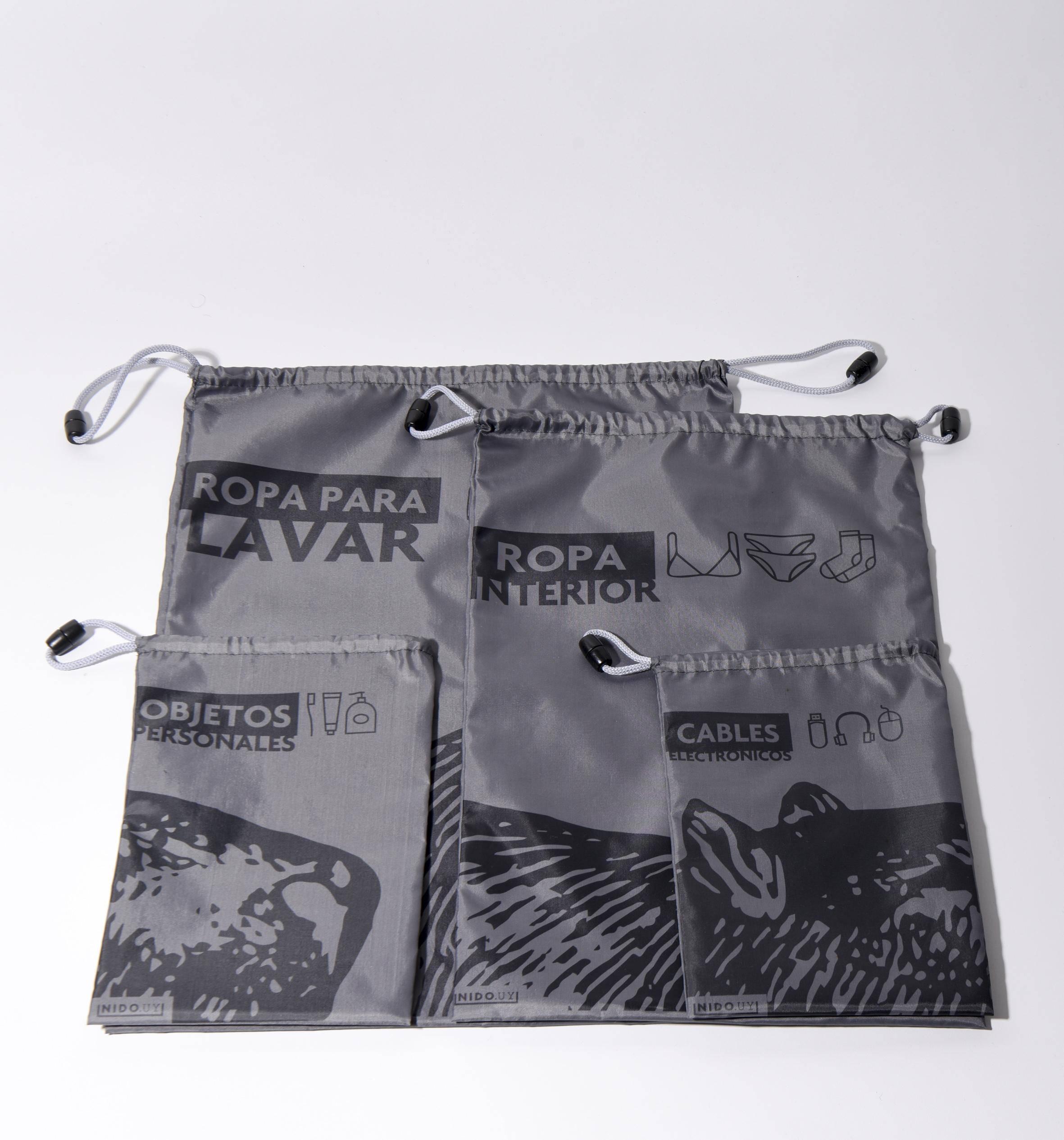 Kit bolsas de viaje
